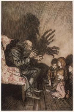 Spooky Stories by Arthur Rackham