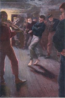 The Boy Could Dance the Fisherman's Jig by Arthur Rackham