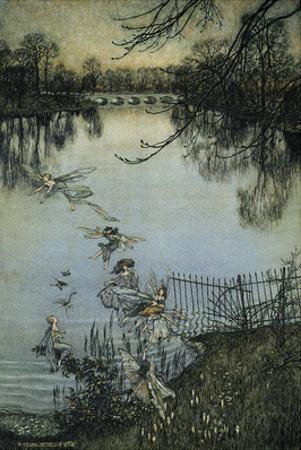 The Fairies of the Serpentine, 1906 by Arthur Rackham