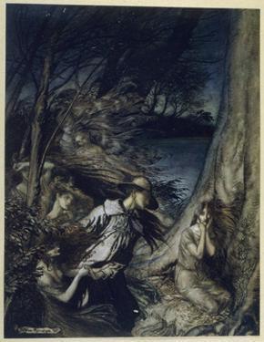 The Fairy Wife by Arthur Rackham