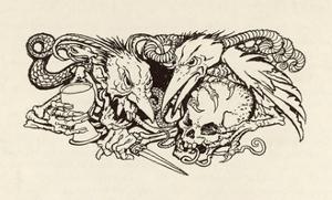 The Imp of Perverse by Arthur Rackham