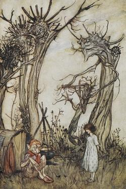 The Man in the Wilderness by Arthur Rackham