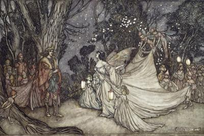 The Meeting of Oberon and Titania, 1908 by Arthur Rackham