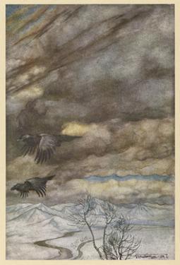 The Ravens of Wotan by Arthur Rackham