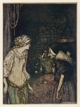 The Robber Bridegroom by Arthur Rackham