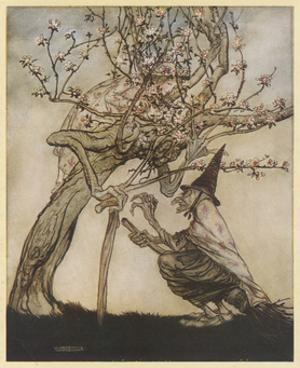 The Two Sisters by Arthur Rackham