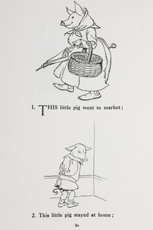 This Little Pig Went To Market - Nursery Rhyme