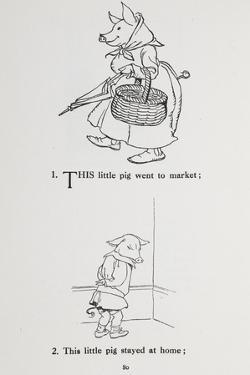 This Little Pig Went To Market - Nursery Rhyme by Arthur Rackham