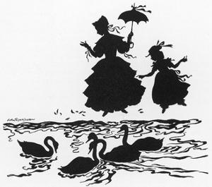Ugly Duckling 2 by Arthur Rackham