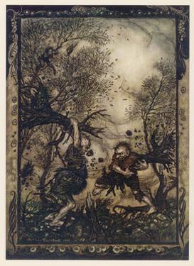 Valiant Tailor by Arthur Rackham
