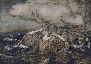 Wind and Waves Rackham by Arthur Rackham
