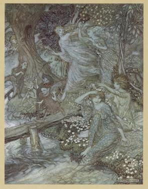 Woodnymphs by Arthur Rackham
