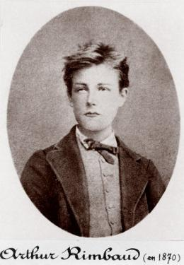 Arthur Rimbaud Reckless and Rebellious French Poet, 1870