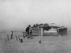 Drought: Dust Storm, 1936 by Arthur Rothstein