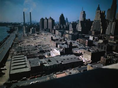 UN Construction Site in New York City
