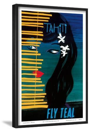 Tahiti - Fly Teal (Tasman Empire Airways Limited) by Arthur Thompson
