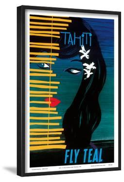 Tahiti - Fly Teal (Tasman Empire Airways Limited) by Arthur Thompson