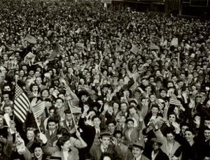 Coney Island, 1945 by Arthur (Weegee) Fellig