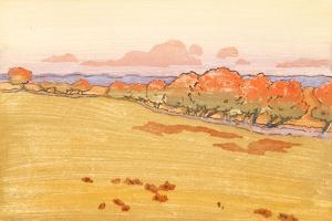 Willows in Bloom by Arthur Wesley Dow