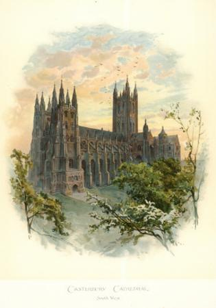 Canterbury Cathedral, South West