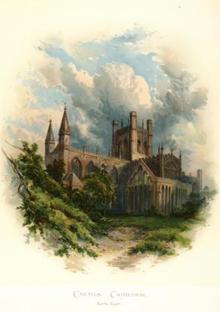 Chester Cathedral, North East