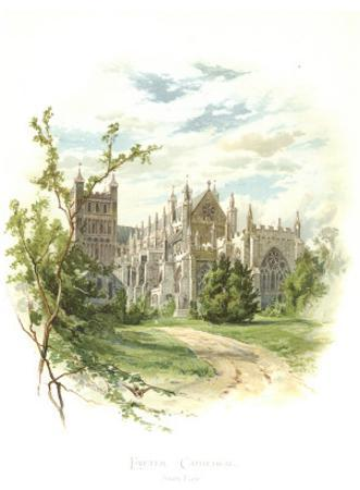 Exeter Cathedral, South East