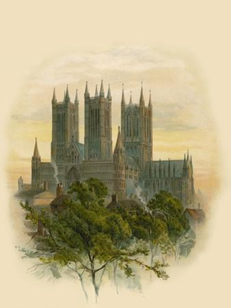 Lincoln Cathedral, South West