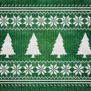 Green Nordic Sweater II by Artique Studio
