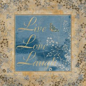 Live Love Laugh by Artique Studio