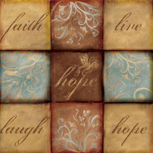 Words of Inspiration Hope by Artique Studio