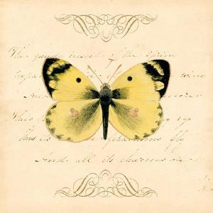 Yellow Butterfly by Artique Studio