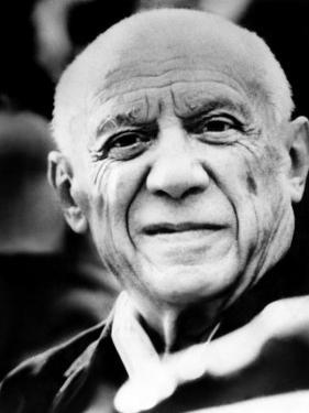 Artist Pablo Picasso. 1971