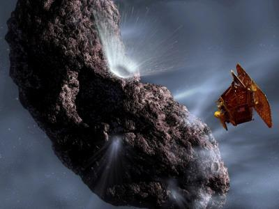 https://imgc.allpostersimages.com/img/posters/artist-s-concept-of-deep-impact-s-encounter-with-comet-tempel-1_u-L-PD3AYO0.jpg?artPerspective=n