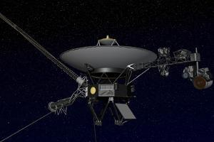 Artist's Concept of One of the Twin Voyager Spacecraft