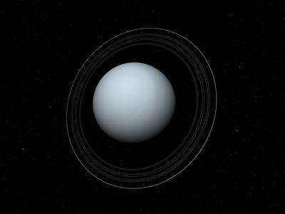 Ring and ring gap nomenclature. Artist S Concept Of Uranus And Its Rings Photographic Print Stocktrek Images Allposters Com