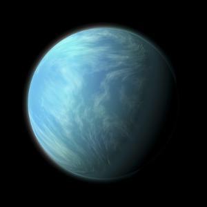 Artist's Depiction of Kepler 22B
