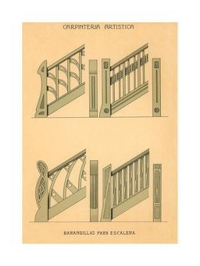 Artistic Carpentry, Stair Rails