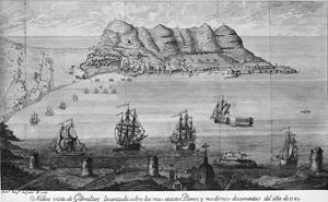 Artistic View of Gibraltar
