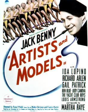 Artists and Models - Movie Poster Reproduction
