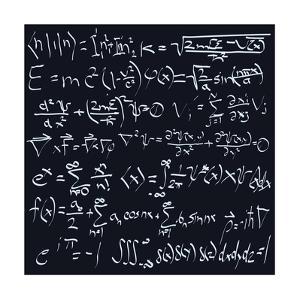 Scientific Formulas by ArtPixz