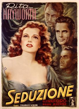 Rita Hayworth in Seduction by Arturo Ballester