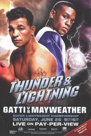 Arturo Gatti vs. Floyd Mayweather