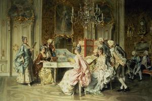 The Recitation by Arturo Ricci
