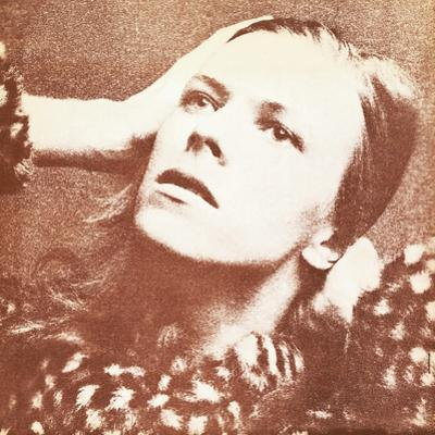 Artwork from David Bowie's Rca Debut Album 'Hunky Dory', 1971
