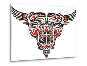 Haida Style Tattoo Design Created With Animal Images by Arty