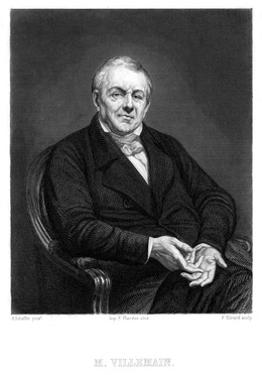Abel Francois Villemain by Ary Scheffer
