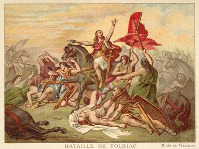 Battle of Tolbiac, 496