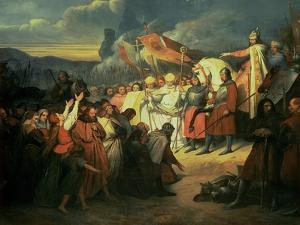 Charlemagne (742-814) Received at Paderborn under the Rule of Witikind in 785 by Ary Scheffer
