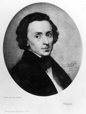 Chopin, 1858 by Ary Scheffer