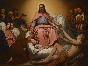 Christus Consolator, 1851 by Ary Scheffer